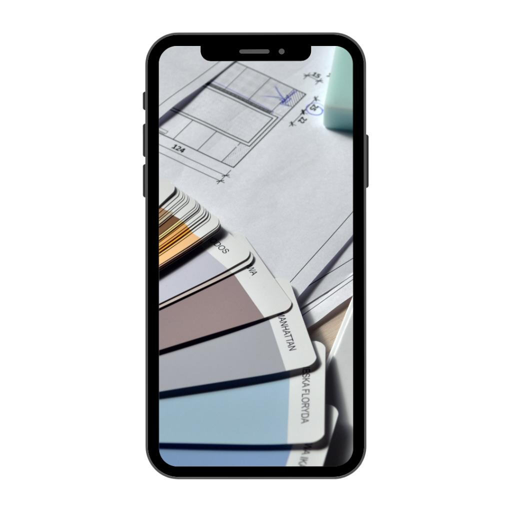 Teléfono con colores Pantone - Decoración de Interiores